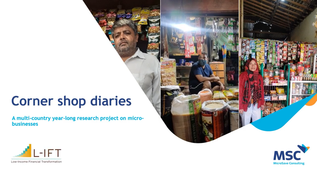 Corner shop diaries: A multi-country year-long research project on micro-businesses