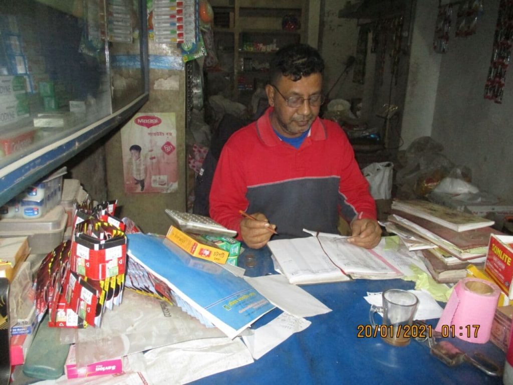Getting behind the corona statistics: How a small shopkeeper took on the pandemic